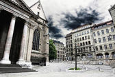 Cathedral Saint Pierre in Geneva, Switzerland — Stock Photo