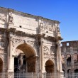 Royalty-Free Stock Photo: Arco de Constantino and  Colosseum in Rome, Italy