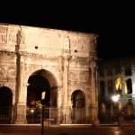 Arco de Constantino and Colosseum in Rome, Italy — Stock Photo