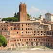 Trajan Market (Mercati Traianei) in Rome, Italy — Stock Photo #3872489