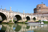 Castel Sant' Angelo in Rome, Italy — Stock Photo