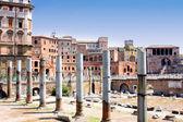 Trajan 论坛,罗马,意大利 — 图库照片