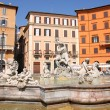 Piazza Navona, Rome, Italy — Stock Photo