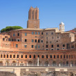 Trajan Market (Mercati Traianei) in Rome, Italy — Stock Photo