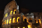 Colosseum at night in Rome, Italy — Stock Photo