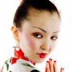 Portrait of geisha — Stock Photo #3029471