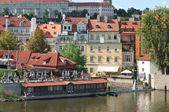 Prague, view from Charles Bridge — Stock Photo