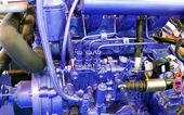 Корабль закрыть детали двигателя — Стоковое фото