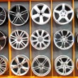 Car wheel aluminum rims — Stock Photo #3027904