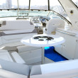 Yacht interior with table — Stock Photo #3461585