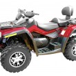 Stock Photo: Grand 4x4 atv isolated
