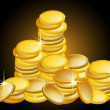 Golden Coins — Stock Photo #2922206