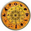 Zodiac Disc with Signs and Symbols — Stock Photo #2945714