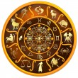 Zodiac Disc with Signs and Symbols — Stock Photo