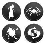 Zodiac signs - set 2 — Stock Photo #2945731