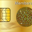 Membership Card — Stock Photo #2945895