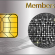Stock Photo: Membership Card