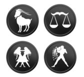 Zodiac signs - set 3 — Stock Photo