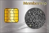 Membership Card — Stock Photo