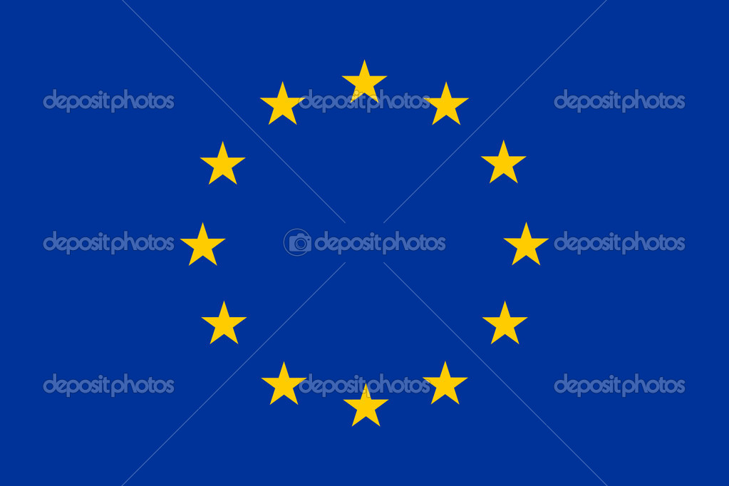 Flag European Union  Stock Photo #2945392