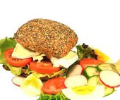 Healthy Fitness Sandwich — Stock Photo