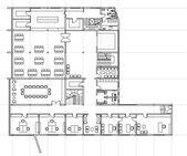 Plan of building — Stock Vector