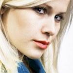 Blond beauty portrait — Stock Photo