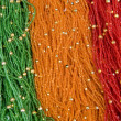 Stock Photo: Colorful beads background