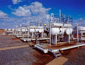 Oil and Gas Refinery — Stock Photo