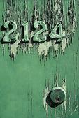 Green Door — Stock Photo