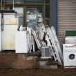 Junk White Goods - Stock Photo