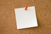 Leave a Message. Notice board — Stock Photo