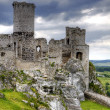 Old castle ruins in Poland in Europe — Stock Photo #3536868