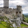 Old castle ruins in Poland in Europe — Stock fotografie