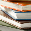 Stock Photo: Books stack