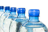 Row of Bottled Water — Stock Photo