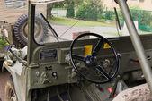 Military cars — Stock Photo