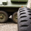 Military cars - Stock Photo