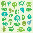 Royalty-Free Stock Vector Image: Germs