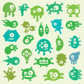 Germs — Vector de stock