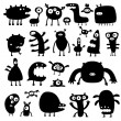 Royalty-Free Stock Vectorielle: Monsters