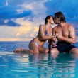 Copile at Maldives - Stock Photo