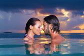 Copile på maldiverna — Stockfoto