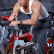Man at the gym — Stock Photo #3376120