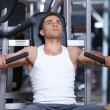 Man at the gym — Stock Photo #3376125