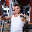 Man at the gym — Stock Photo #3376134