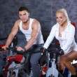 Couple at the gym — Stock Photo #3376151