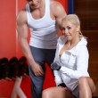 Couple at the gym — Stock Photo #3376168