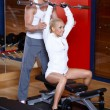 Couple at the gym — Stock Photo #3376170