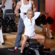 Couple at the gym — Stock Photo #3376173